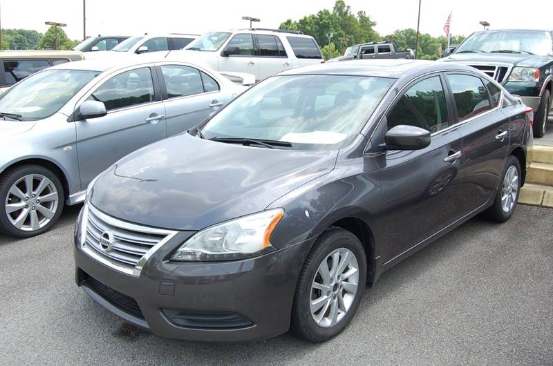 2015 Nissan Sentra for sale at Modern Motors - Thomasville INC in Thomasville NC