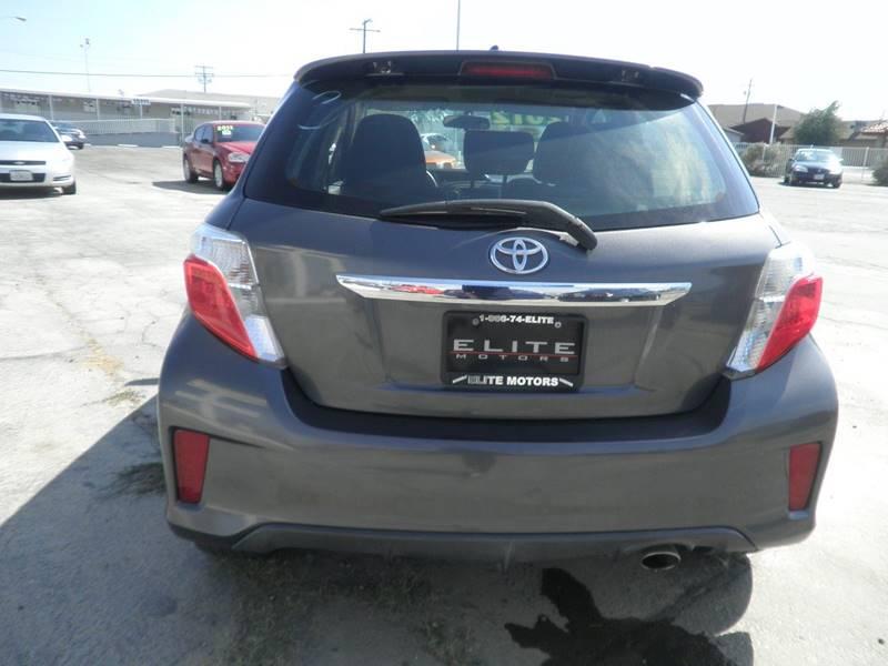 2012 Toyota Yaris 5-Door SE 4dr Hatchback 4A - Victorville CA