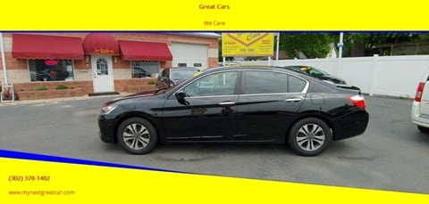 2015 Honda Accord for sale in Middletown, DE