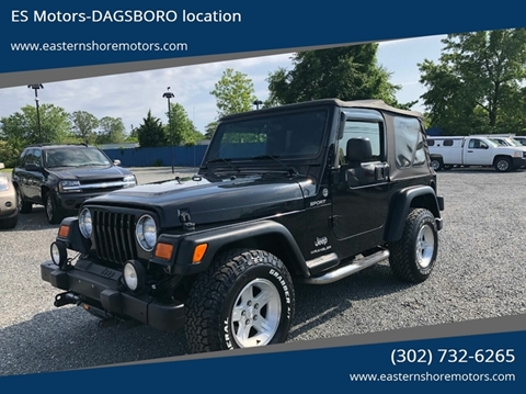 2005 Jeep Wrangler for sale in Dagsboro, DE