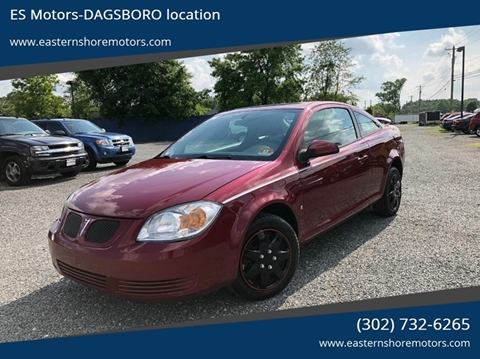 2009 Pontiac G5 for sale in Dagsboro, DE