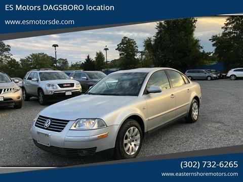 2003 Volkswagen Passat for sale in Dagsboro, DE