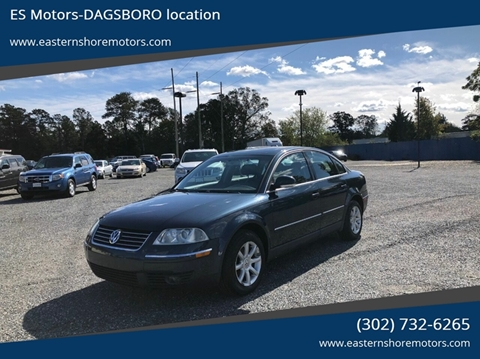 2004 Volkswagen Passat for sale in Dagsboro, DE