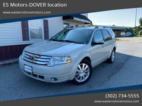2008 Ford Taurus X for sale in Dover, DE