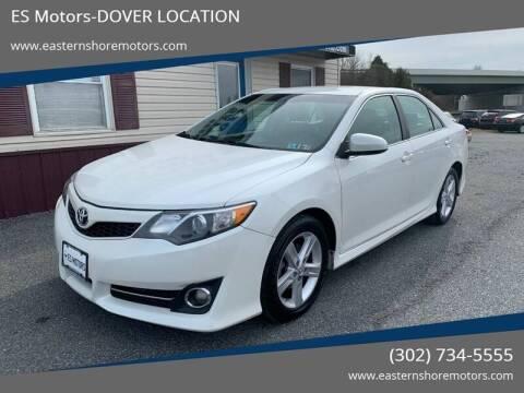 2014 Toyota Camry SE for sale at ES Motors-DAGSBORO location - Dover in Dover DE