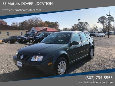 2003 Volkswagen Jetta GL for sale at ES Motors-DAGSBORO location in Dagsboro DE
