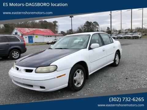1999 Oldsmobile Cutlass GL for sale at ES Motors-DAGSBORO location in Dagsboro DE