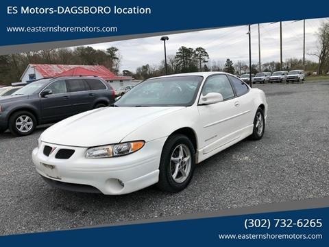 2002 Pontiac Grand Prix GT for sale at ES Motors-DAGSBORO location in Dagsboro DE