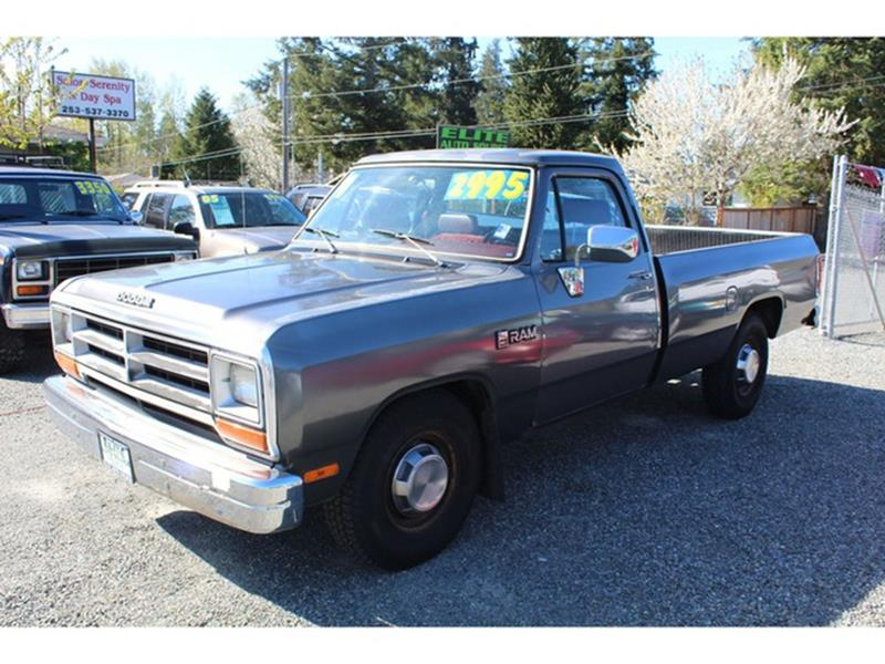 1990 Dodge RAM 250 Base 250 - Puyallup WA