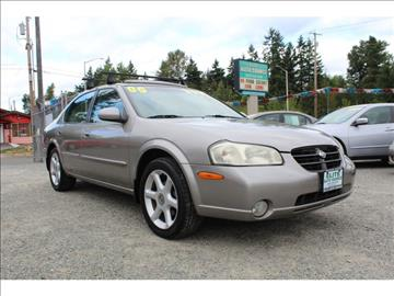 2000 Nissan Maxima for sale in Puyallup, WA