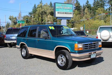 1993 Ford Explorer for sale in Puyallup, WA