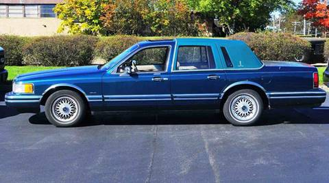 1993 Lincoln Town Car For Sale Carsforsale Com