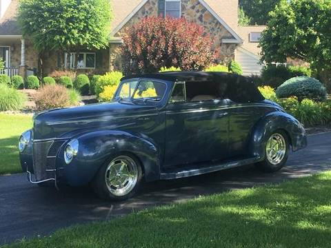 1940 Ford Super Deluxe for sale at Millevoi Bros. Auto Sales in Philadelphia PA