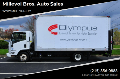 2014 Isuzu NPR-HD for sale at Millevoi Bros. Auto Sales in Philadelphia PA