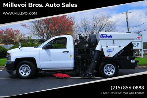 2018 Chevrolet Silverado 1500 for sale at Millevoi Bros. Auto Sales in Philadelphia PA