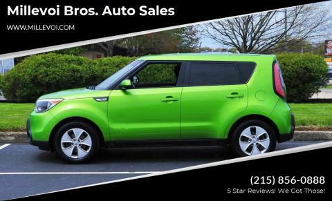 2016 Kia Soul for sale at Millevoi Bros. Auto Sales in Philadelphia PA