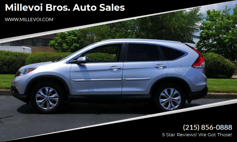 2013 Honda CR-V for sale at Millevoi Bros. Auto Sales in Philadelphia PA