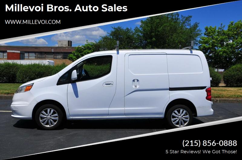 2015 Chevrolet City Express Cargo for sale at Millevoi Bros. Auto Sales in Philadelphia PA