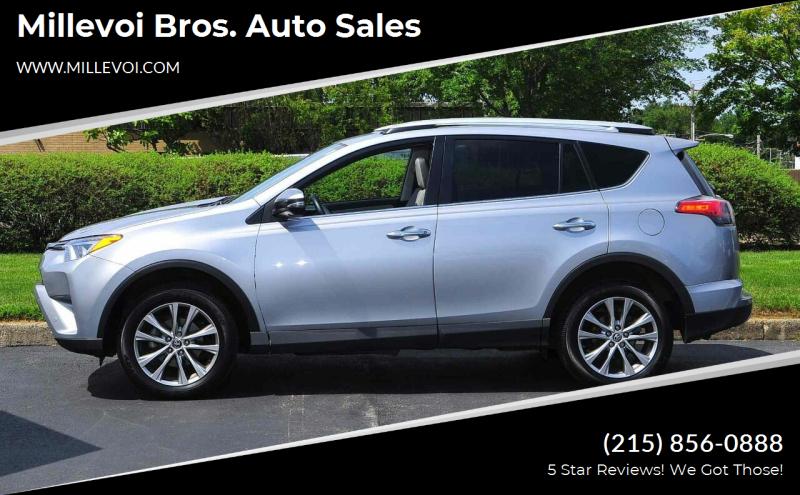 2016 Toyota RAV4 for sale at Millevoi Bros. Auto Sales in Philadelphia PA