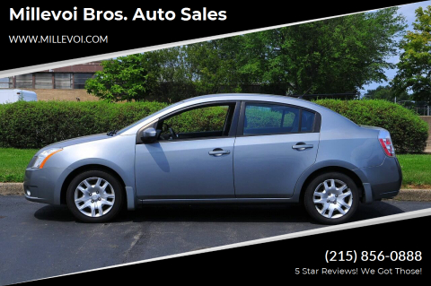 2008 Nissan Sentra for sale at Millevoi Bros. Auto Sales in Philadelphia PA