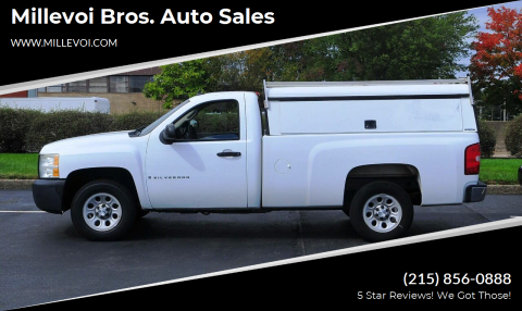 2008 Chevrolet Silverado 1500 for sale at Millevoi Bros. Auto Sales in Philadelphia PA