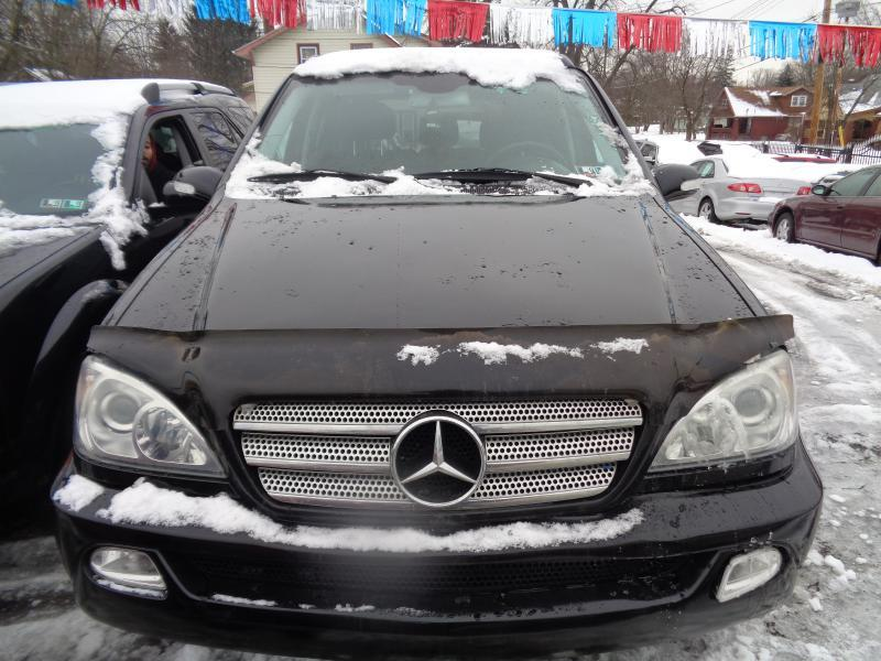 2003 mercedes benz m class ml350 awd 4matic 4dr suv in youngstown oh castle motors llc. Black Bedroom Furniture Sets. Home Design Ideas