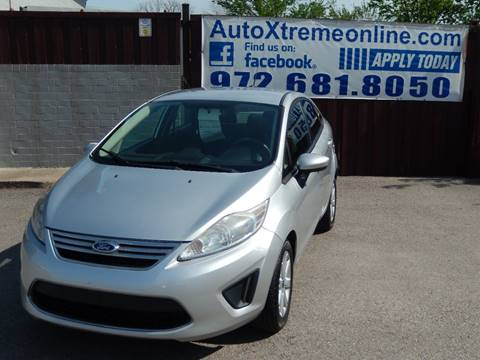 2012 Ford Fiesta for sale at AUTO XTREME INC in Mesquite TX
