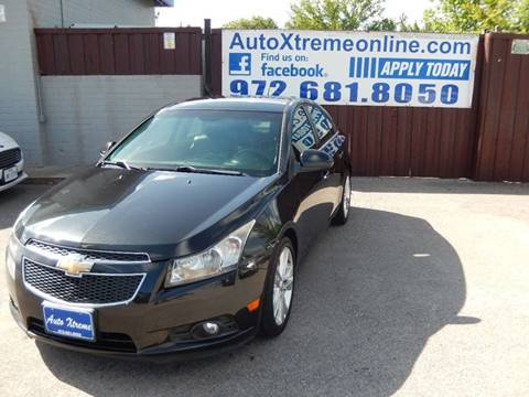 2012 Chevrolet Cruze for sale at AUTO XTREME INC in Mesquite TX