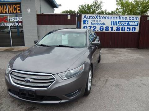 2013 Ford Taurus for sale at AUTO XTREME INC in Mesquite TX