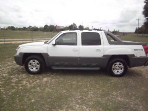 2002 Chevrolet Avalanche for sale at Sooks Motor Company in Wiggins MS