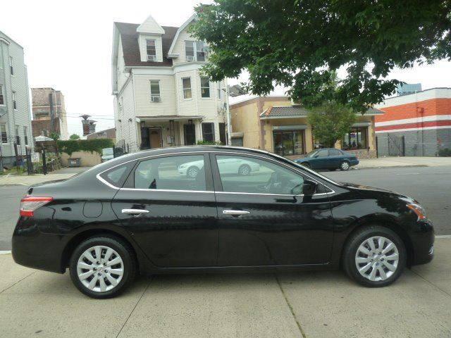 2013 Nissan Sentra for sale at JOANKA AUTO SALES in Newark NJ