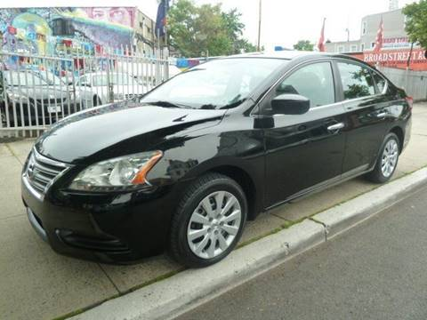 2013 Nissan Sentra for sale at JOANKA AUTO SALES in Newark NJ