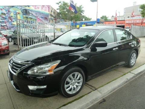 2013 Nissan Altima for sale at JOANKA AUTO SALES in Newark NJ