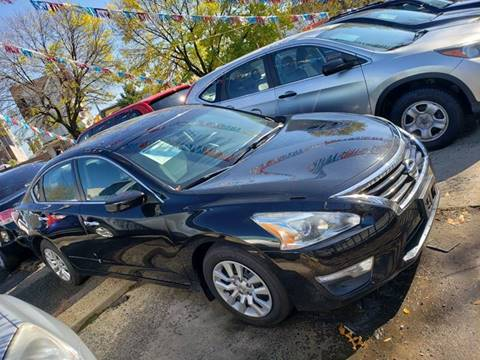 2014 Nissan Altima for sale at JOANKA AUTO SALES in Newark NJ