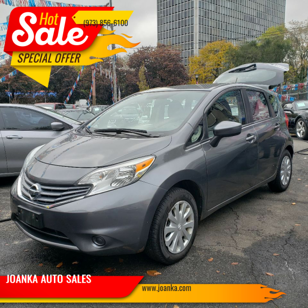 2016 Nissan Versa Note for sale at JOANKA AUTO SALES in Newark NJ
