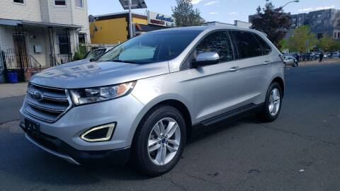 2015 Ford Edge SEL for sale at JOANKA AUTO SALES in Newark NJ