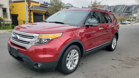 2013 Ford Explorer XLT for sale at JOANKA AUTO SALES in Newark NJ