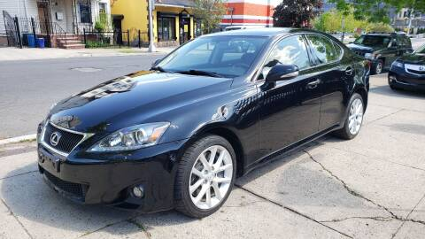 2011 Lexus IS 350 for sale at JOANKA AUTO SALES in Newark NJ