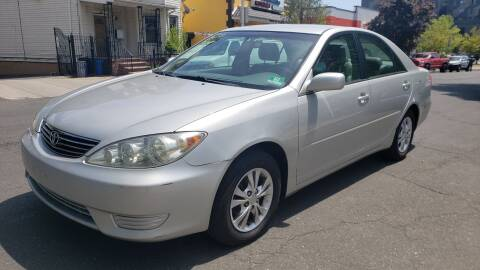 2006 Toyota Camry LE for sale at JOANKA AUTO SALES in Newark NJ