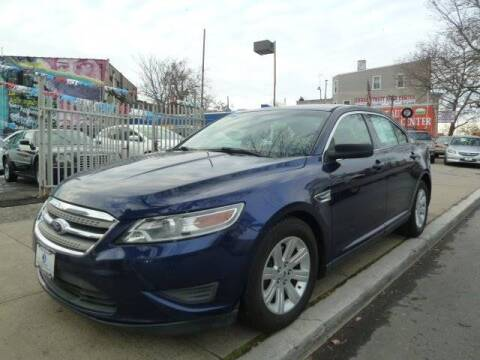 2011 Ford Taurus SE for sale at JOANKA AUTO SALES in Newark NJ