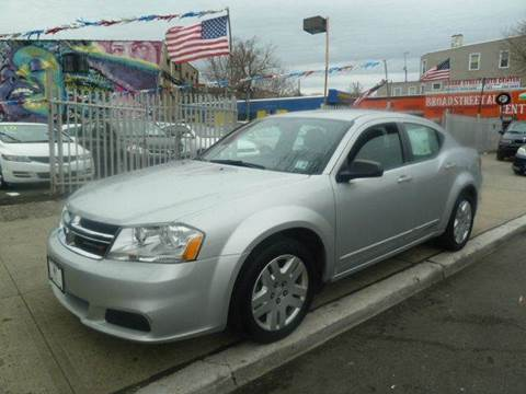 2012 Dodge Avenger for sale at JOANKA AUTO SALES in Newark NJ
