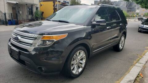 2014 Ford Explorer XLT for sale at JOANKA AUTO SALES in Newark NJ