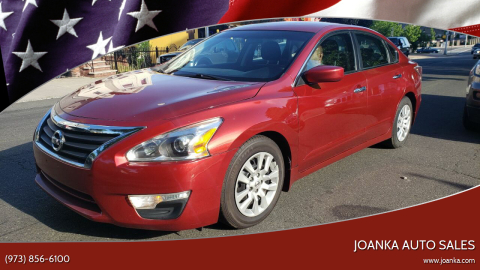 2015 Nissan Altima for sale at JOANKA AUTO SALES in Newark NJ
