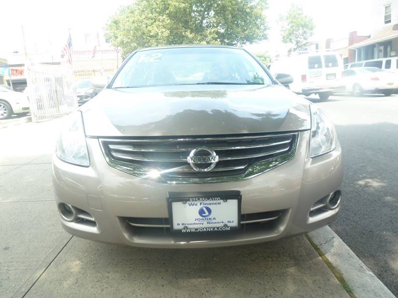 2012 Nissan Altima for sale at JOANKA AUTO SALES in Newark NJ