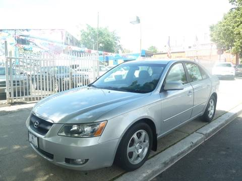 2006 Hyundai Sonata for sale at JOANKA AUTO SALES in Newark NJ
