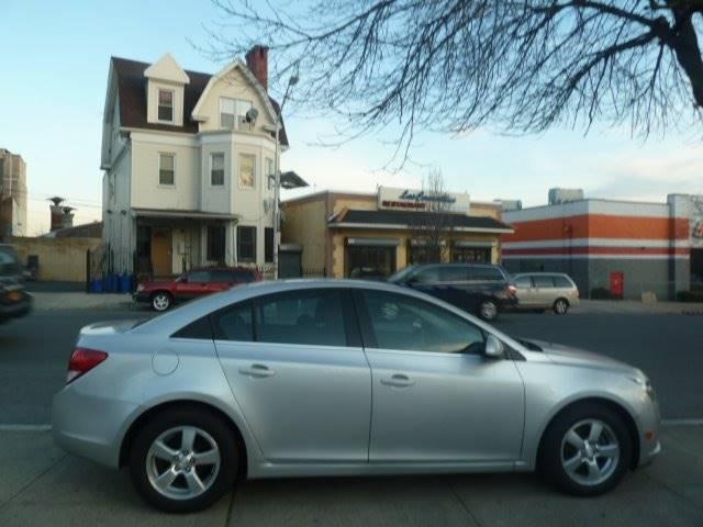 2013 Chevrolet Cruze for sale at JOANKA AUTO SALES in Newark NJ