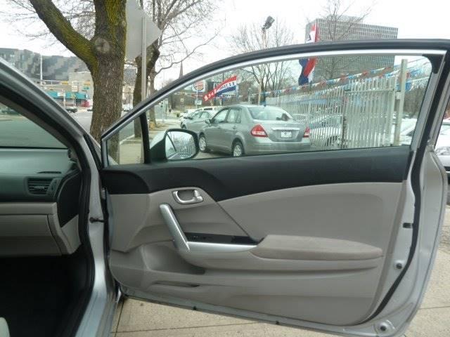 2012 Honda Civic for sale at JOANKA AUTO SALES in Newark NJ