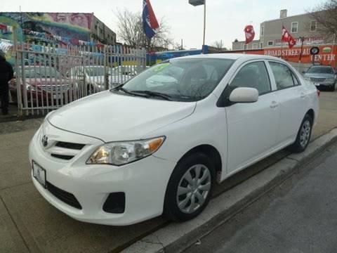 2013 Toyota Corolla for sale at JOANKA AUTO SALES in Newark NJ