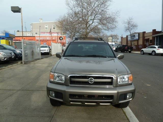 2003 Nissan Pathfinder for sale at JOANKA AUTO SALES in Newark NJ