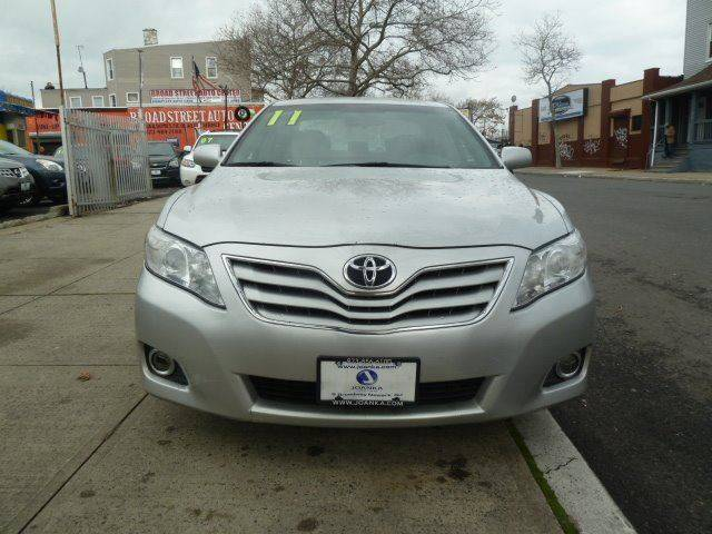 2011 Toyota Camry for sale at JOANKA AUTO SALES in Newark NJ